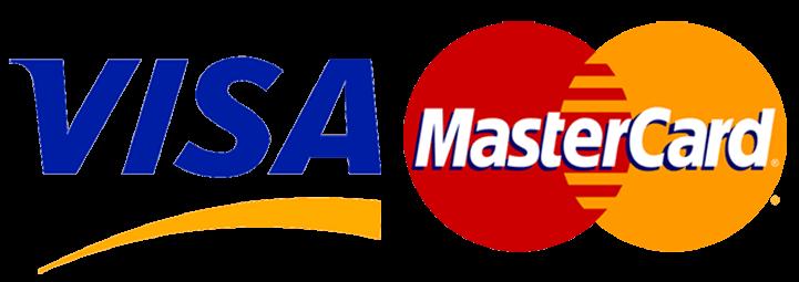 Логотип Виза и Мастеркарт